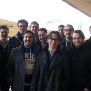 Foto: Juso-Delegation in Brüssel