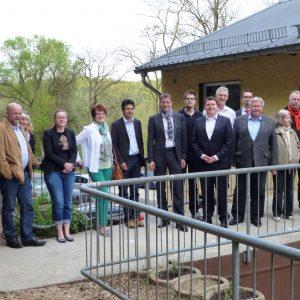 Besuch von Kreispolitikern sowie Martin Rabanus, MdB und Marius Weiß, MdL