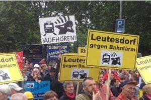 Bahnlärm-Demo 10. Mai 2014