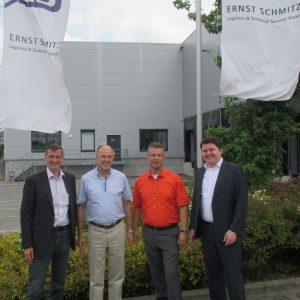 Besuch beim Ernst Schitz-Logistik