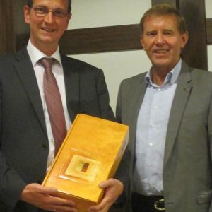 Martin Rabanus und Werner Genz